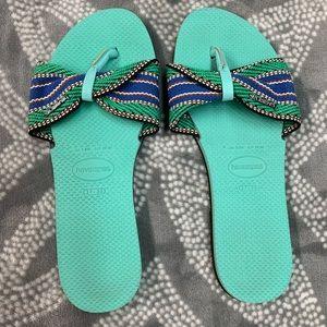 Havaianas you St. tropez fita thong sandals 7/8w